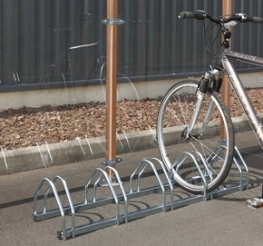 Soporte suelo 5 bicicletas tiendas ibi - Anclaje para bicicletas ...