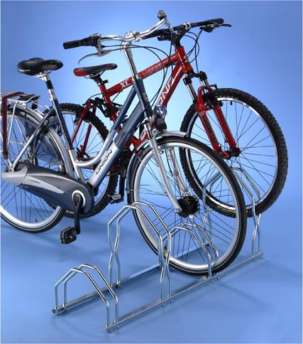 Soporte suelo 4 bicis alto bajo tiendas ibi for Soporte para bicicletas suelo