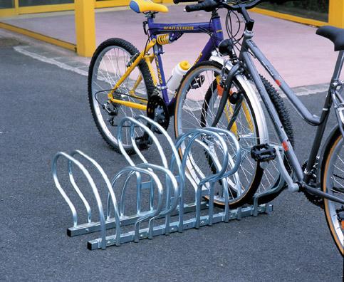 Soporte suelo 6 bicicletas aparcabicis portabicicletas for Soporte para bicicletas suelo
