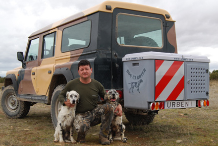 Portaperros Dog carrier Plus 4x4