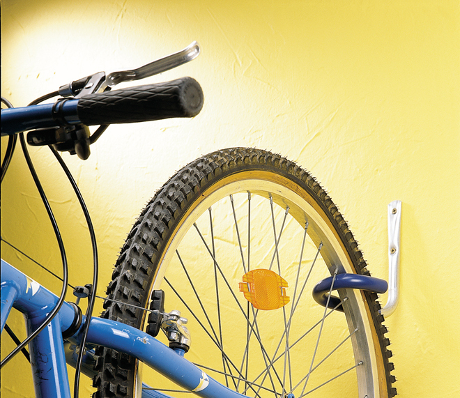 Pack ahorro gancho bicicleta forrado x 4 tiendas ibi - Gancho bicicleta pared ...
